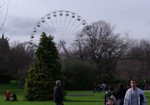 Ferris Wheel above Merrion