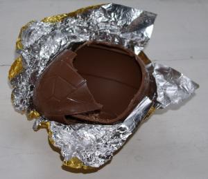 Opened Egg