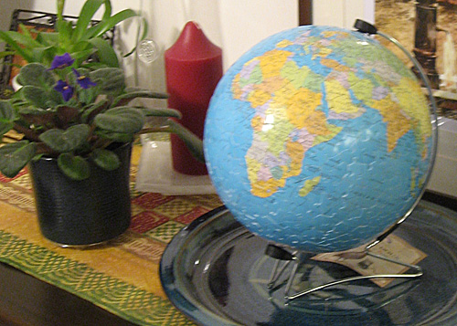 Finished Globe