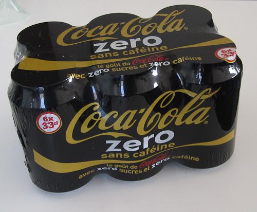 Case Coke Zero