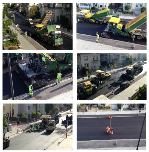 Day 2 - street repaving