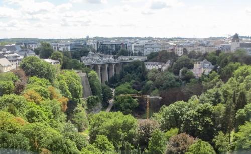 Passerelle over Pétrusse