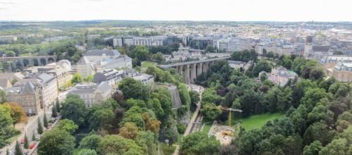 Pétrusse Valley and Passerelle