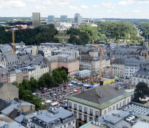 Brocante at Place Guillaume